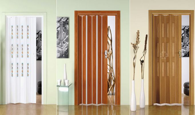 Pvc Folding Doors Interior Gallery - doors design for house